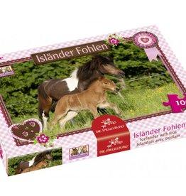 Puzzel Ijslander met veulen 100stukjes 5+ - Paarden
