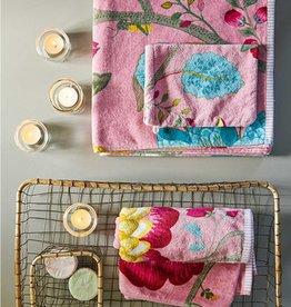 Pip Studio Handdoek Floral Fantasy 55x100cm Roze - Pip Studio
