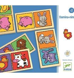 Djeco Domino Nimo spel +2jr - Djeco