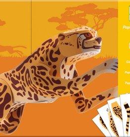 Djeco Knutselpakket Jaguar Gigantisch. +9jr - Djeco