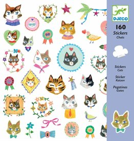 Djeco 160 Stickers Katten - Djeco