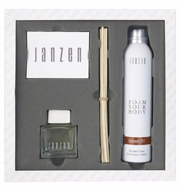 JANZEN Home & Body Giftset Brown 51 - JANZEN