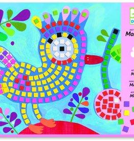 Djeco Mozaïek. Kunst met een nummer. Vogel en Lieveheersbeestje. +4jr - Djeco