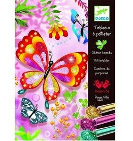 Djeco Glitterschilderijen. Vlinders en Beestjes +7jr - Djeco