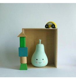 A Little Lovely Company Nachtlampje Peer Mint - A Little Lovely Company