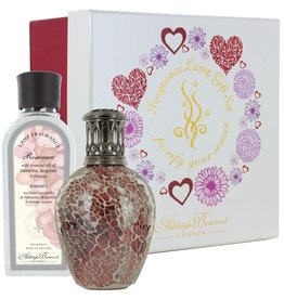 Ashleigh & Burwood Rose Quartz Fragrance Lamp Giftset met 250ml Romance Geurlampolie Limeted Edition - Ashleigh & Burwood