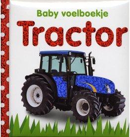 Baby Voelboekje Karton - Tractor