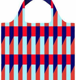 Loqi Shopper Opvouwbaar Geometric Stripes - Loqi