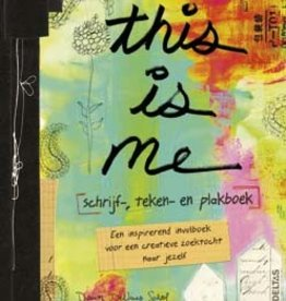 Deltas This is me, Schrijf, Teken en Plakboek - Deltas