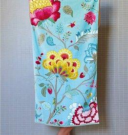 Pip Studio Handdoek groot Floral Fantasy 70x140cm Petrol- Pip Studio