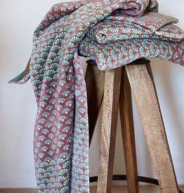 Pip Studio Handdoek Blooming Tails 55x100cm Khaki - Pip Studio