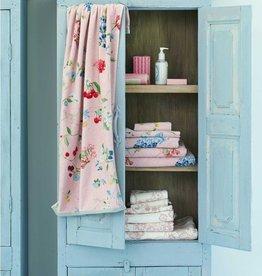 Pip Studio Handdoek groot Hummingbirds 70x140cm Lila - Pip Studio