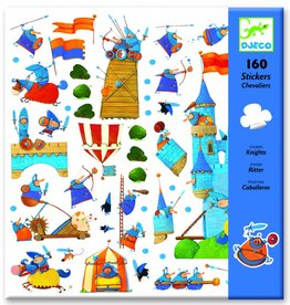Djeco 160 Stickers Ridders - Djeco