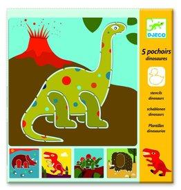 Djeco Sjablonen Dinosaurussen +4jr - Djeco