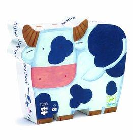 Djeco Puzzel De Koeien op de boerderij - Djeco