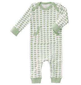 Fresk Pyjama zonder voet Leaves mint 0-3mnd - Fresk
