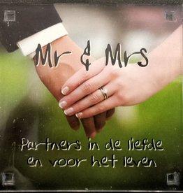 History & Heraldry Sentiment Magneet Mr & Mrs...