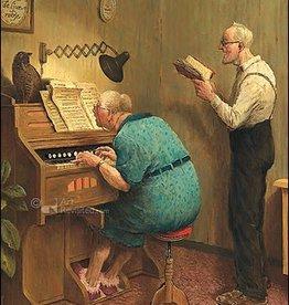 Zoals de Ouden zongen - Wenskaart Marius van Dokkum