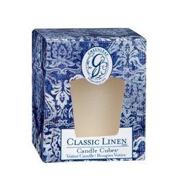 GreenLeaf Classic Linen Geurkaars - GreenLeaf