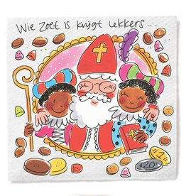 Blond Amsterdam Servetten Sinterklaas - Blond Amsterdam