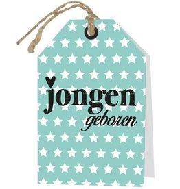 Wenskaart Jongen Geboren - Rebel30