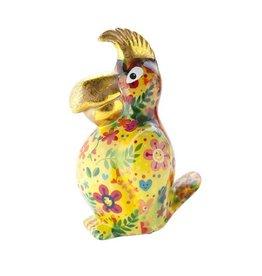 Pomme-Pidou Spaarpot Papegaai Coco Geel - Pomme-Pidou