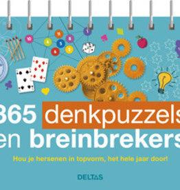 365 denkpuzzels en breinbrekers - Deltas