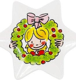 Blond Amsterdam Kerst Schaaltje 12cm Girl - Blond Amsterdam