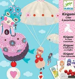 Djeco Kirigami Parachutes 6stuks De Meisjesploeg +7jr - Djeco