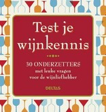 Deltas Test je Wijnkennis onderzetters - Deltas
