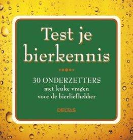 Deltas Test je Bierkennis onderzetters - Deltas