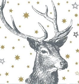 Artebene Servetten met Hert en Gouden sterren - Artebene