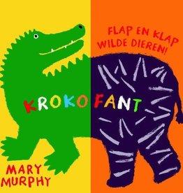 Krokofant kartonboek - Mary Murphy