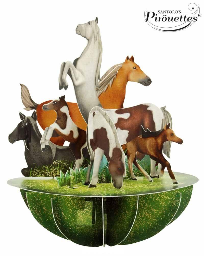 Santoro London Paarden - Santoro Pirouettes