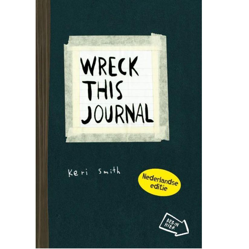 Wreck this journal NL editie - Keri Smith