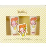 Blond Amsterdam Set Handcreme & Lip Gloss geel Hibiscus - Blond Amsterdam