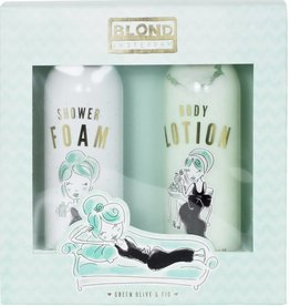 Blond Amsterdam Set Shower Foam & Body Lotion Green - Blond Amsterdam