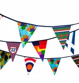 Engelpunt Slinger / Vlaggenlijn Cool Boy's 11M / 22 vlaggen - Engelpunt