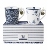 Laura Ashley Set van 2 bekers in cadeauverpakking - Laura Ashley