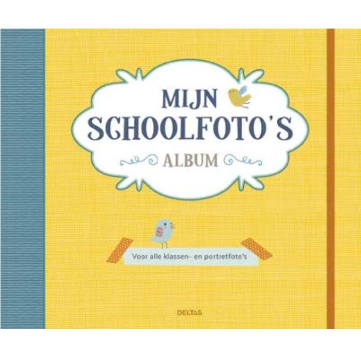 Deltas Mijn Schoolfoto's Album (geel) - Deltas