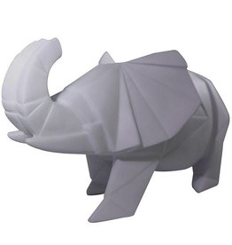 House of Disaster Origami Lamp Olifant grijs - House of Disaster