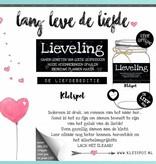 Kletspot Lieveling - De Liefdes Editie van de Kletspot