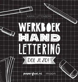 Werkboek Hand Lettering Doe je Zo! - Karin Luttenberg