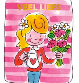 Veel Liefs Tea card - Blond Amsterdam