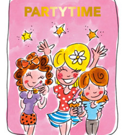 Blond Amsterdam Partytime Time Tea card - Blond Amsterdam