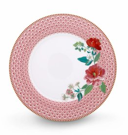 Pip Studio Dinerbord Rose Roze 26,5cm - Pip Studio