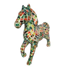 Pomme-Pidou Spaarpot Paard Lucky gevlekt - Pomme-Pidou