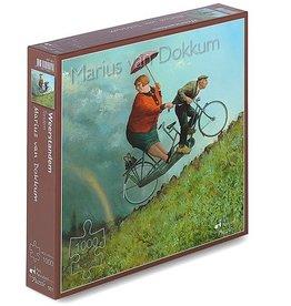 """Puzzel """"Weerstandem"""" Marius van Dokkum 48,5x54cm / 1000 pcs"""