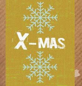 Kerstkaart Merry X-Mas - PeperMints
