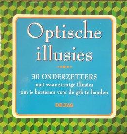 Deltas Optische illusies onderzetters - Deltas